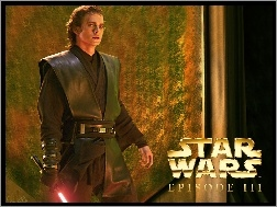 Hayden Christensen, str�j, Star Wars, napis